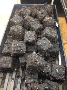 soil block pile